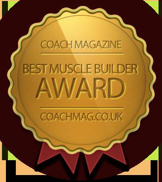 Winner of Best Muscle Builder Supplement Award
